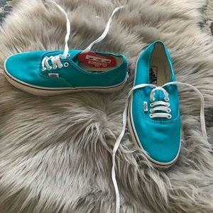 Vans Sneakers- size 7 m, 8.5 w